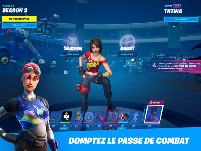 ‎Fortnite Capture d'écran