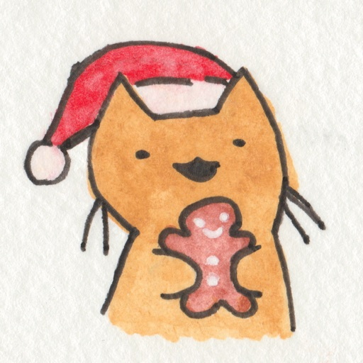 Christmas Cats Stickers