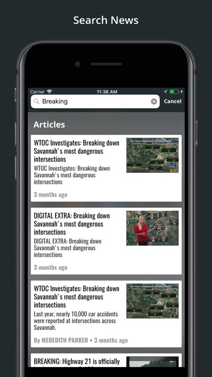 WTOC 11 News screenshot-4