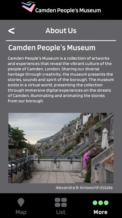 Camden People's Museum screenshot-3