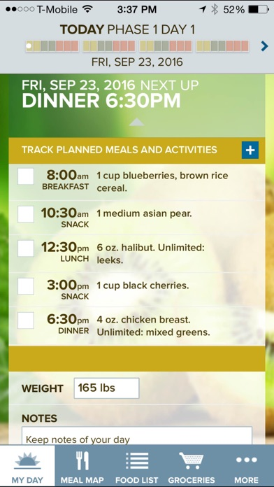 The Fast Metabolism Diet App - Customized meal planning, food lists, and diet tools screenshot