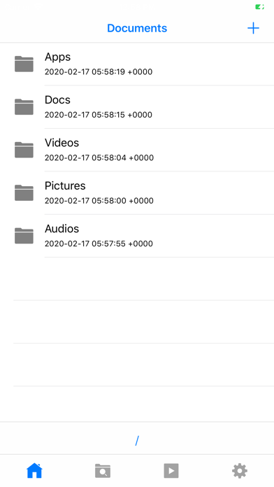 Filza File Manager App screenshot 1