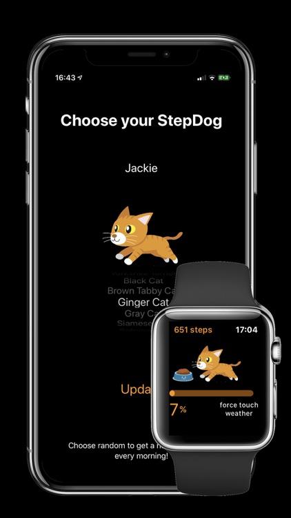 StepDog - Watch Face Dog screenshot-6