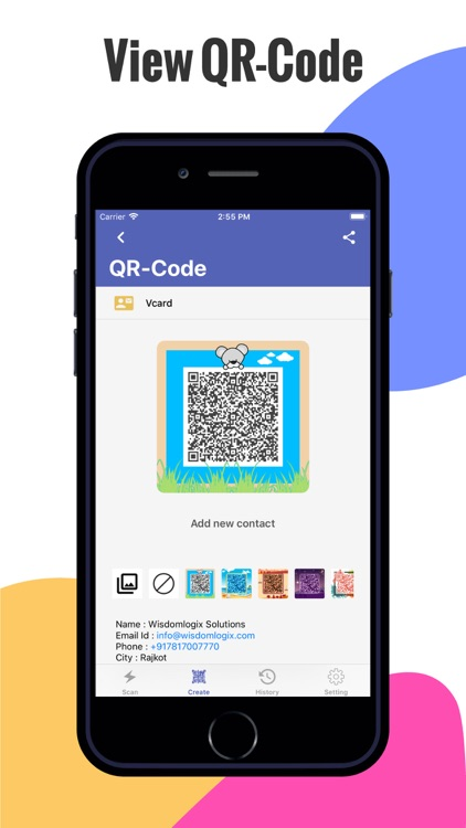 Rapid QR Code Scanner screenshot-4