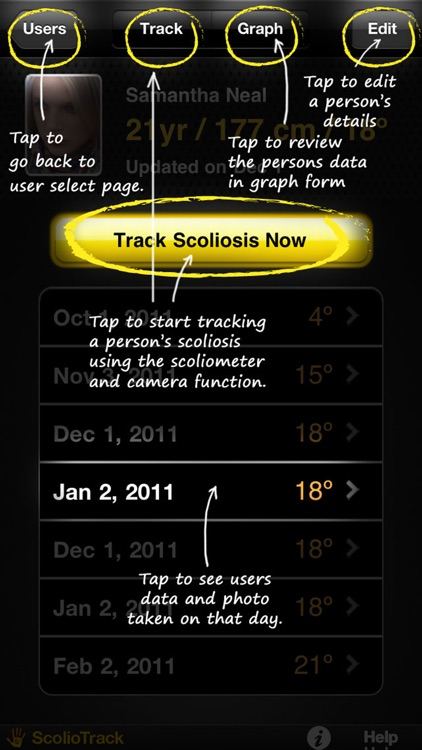 ScolioTrack screenshot-1