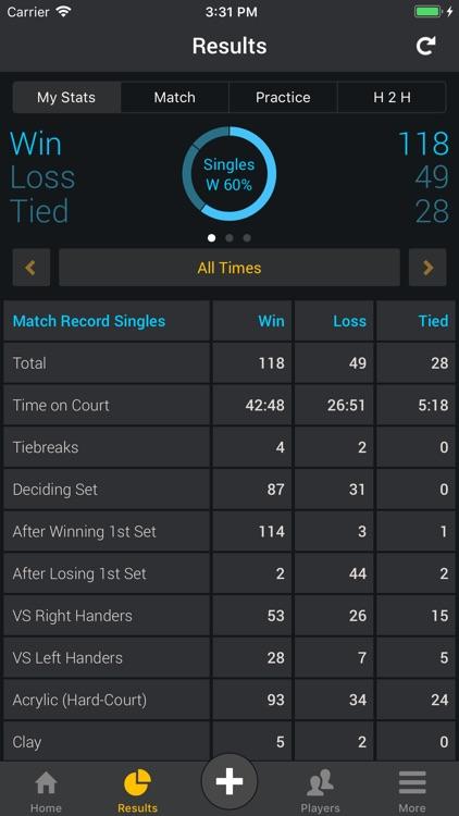 Smashpoint Tennis Tracker screenshot-6