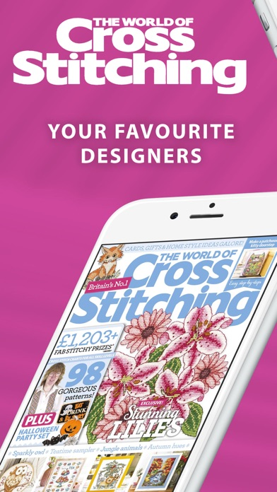 Screenshot for The World of Cross Stitching in United Arab Emirates App Store