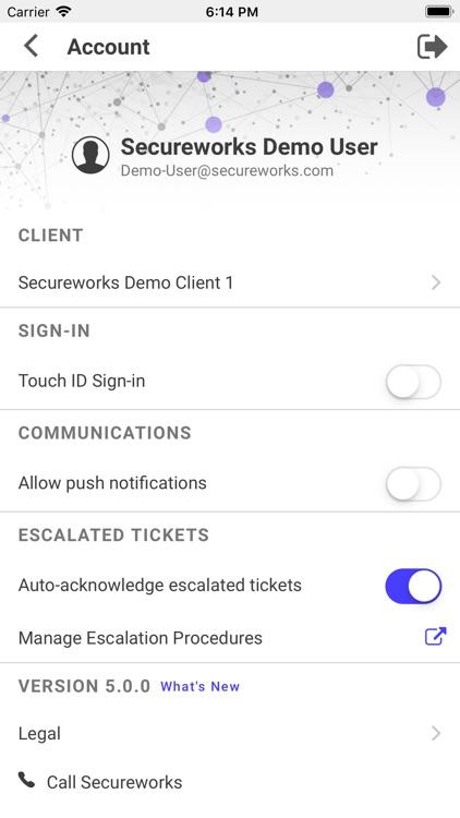 Secureworks Mobile screenshot-3