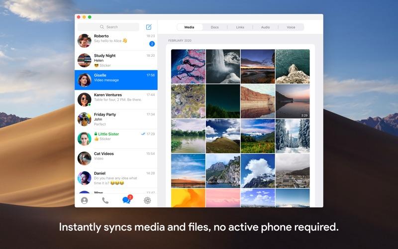 Mac社交通讯软件 Telegram for Mac