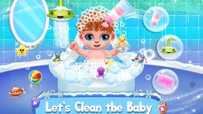 جليد أمي & طفل رعاية نهارية لعلقطة شاشة3