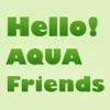 Hello! AQUA Friends - iPhoneアプリ