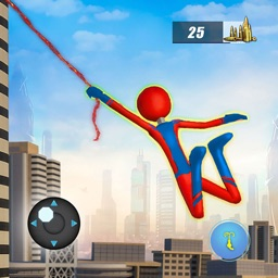Stickman Rope Hero City