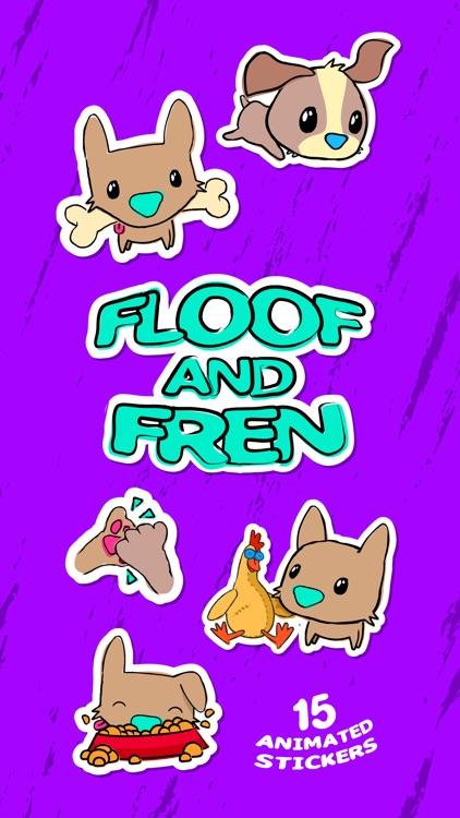 Floof and Fren Sticker Pack