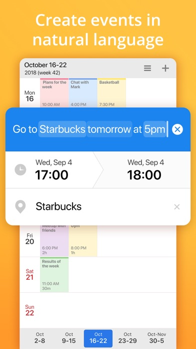 Calendars 5 by Readdle Screenshot on iOS