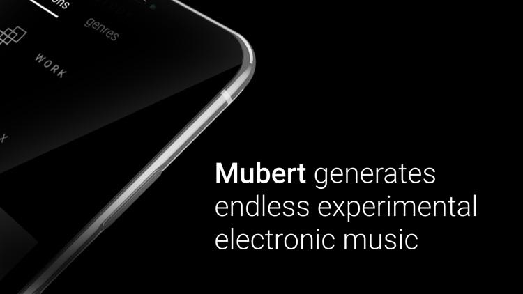 Mubert screenshot-3