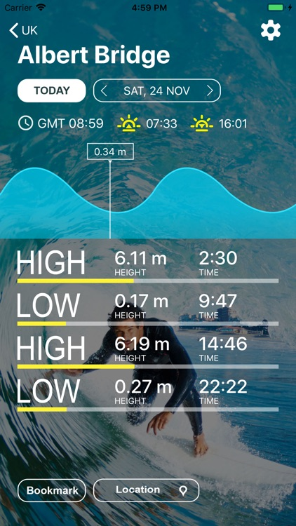 UK Tides - Tide Predictions screenshot-0