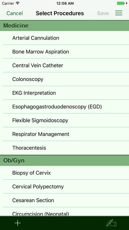 Procedure Log screenshot-5
