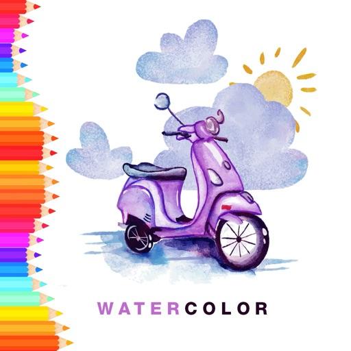 Watercolor Sketch Book
