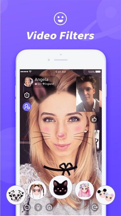 Screenshot for LivU – Random Live Video Chat in Jordan App Store