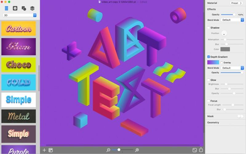 Art Text 4 Screenshot