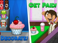 Papa's Cupcakeria HD ipad images