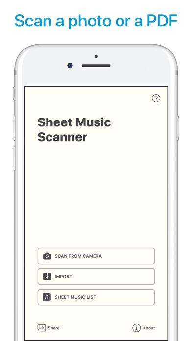 download Sheet Music Scanner apps 0