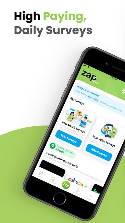 Zap Surveys - Get Paid Cash