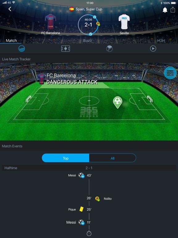 Football Live Scores, Basketball, Hockey - 365Scores screenshot