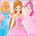 王女だけ女の子のためのパズルをドレスアップ - 無料版 icon