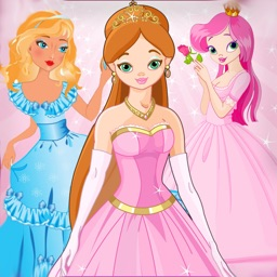 Princess dress up puzzle for girls only - Free Edition