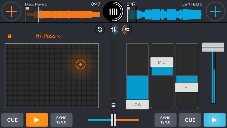 Cross DJ - dj mixer app screenshot-3