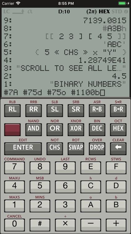 RPN 28x Calc screenshot-3