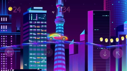 neon city: race mania Screenshot 2