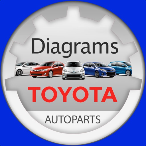 Toyota Parts Diagram & VIN