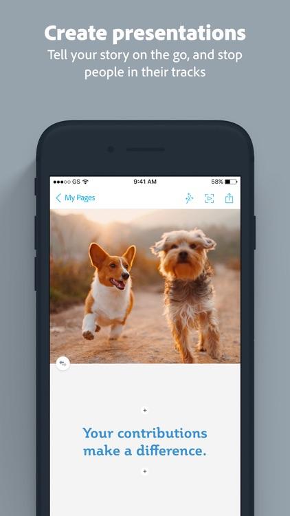 Adobe Spark Page screenshot-4