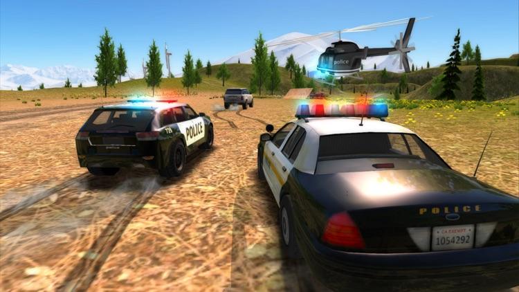 Crime City Police Car Driver screenshot-4