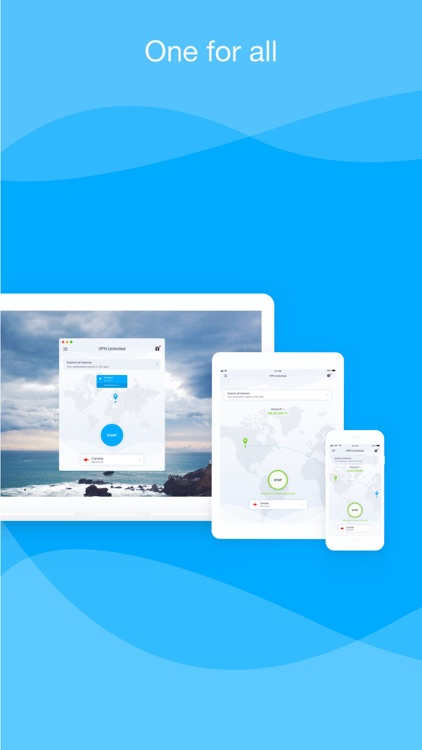 VPN Unlimited for iPhone, iPad screenshot-4