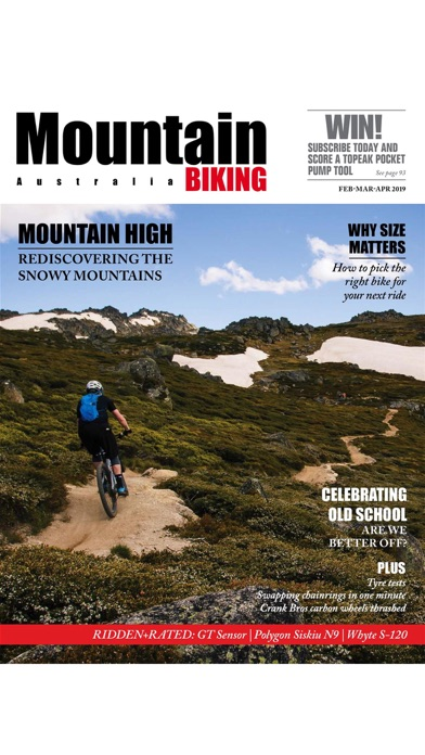 Screenshot for Mountain Biking Australia in France App Store