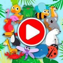 KidsDi: Funny animals puzzle
