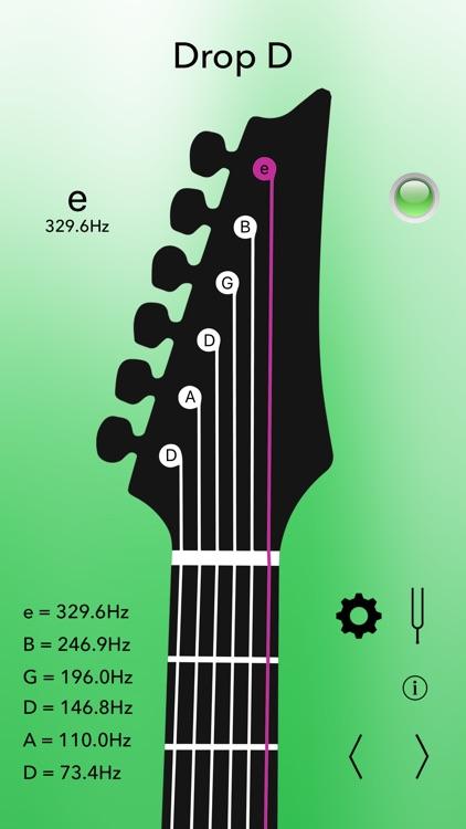 Electric Guitar Tuner Pro screenshot-4