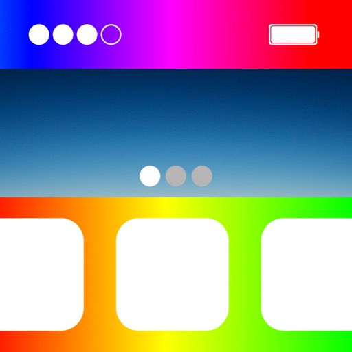 Home Screen Background Effects iOS App
