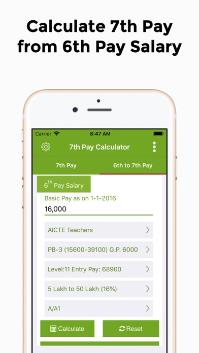 7th Pay Commission Salary Calc App Data & Review - Finance - Apps