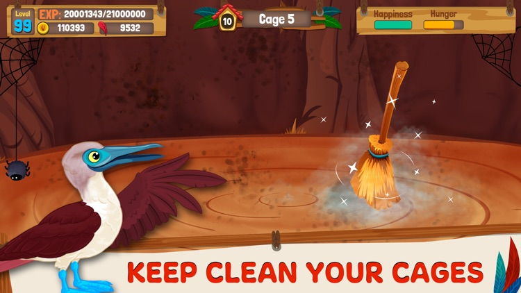 Bird Land: Pet Simulation Game screenshot-4