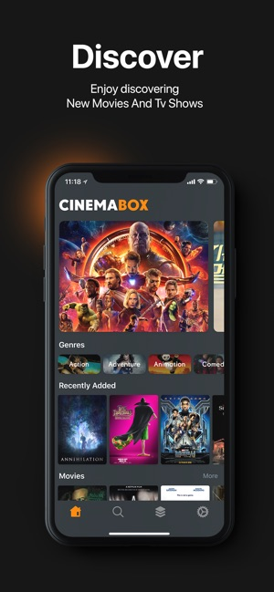 cinema box ios review
