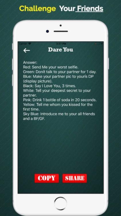 Dare Status for Whatsapp screenshot-7