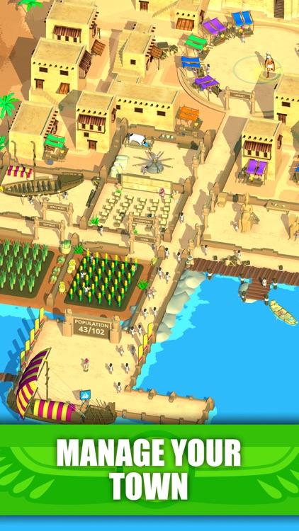 Idle Egypt Tycoon: Empire Game screenshot-0