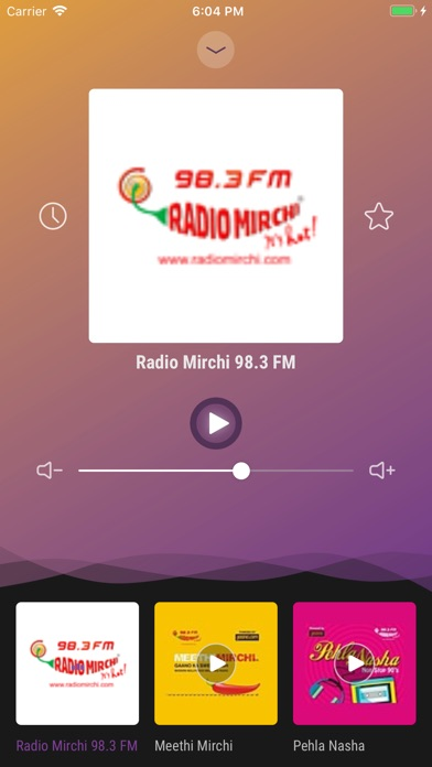 Screenshot for India Radio - Live FM Player in Belgium App Store