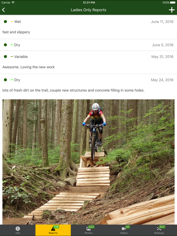 Trailforks - Mountain Bike Trail Map screenshot