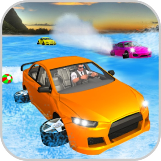 Racing Water Surfing Car icon