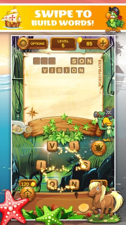 Word Pirates: Word Puzzle Game screenshot-3